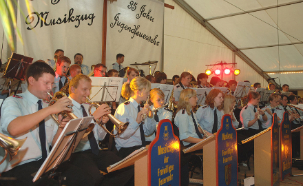 Jugendmusikzug der Ortsfeuerwehr Dinklar Foto (c) Gemeinde Schellerten