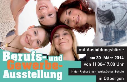 Berufs- und Gewerbeausstellung am 30. März 2014 in der Richard-von-Weizsäcker-Schule Ottbergen