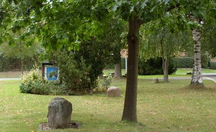 Bürgerplatz in der Ortschaft Oedelum Foto (c) Gemeinde Schellerten