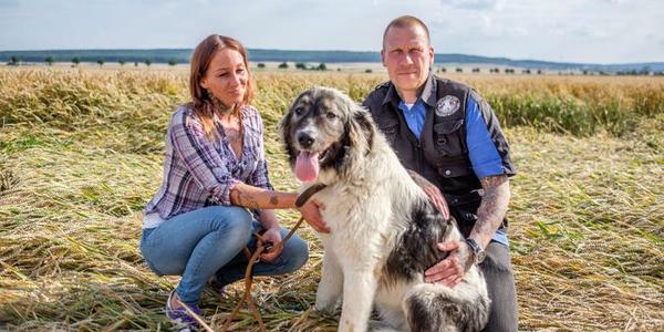 Streunern und Ausreißern auf der Spur - Wiebke und Peter Pawenski aus Schellerten sind als Tierretter für sieben Gemeinden unterwegs. Foto (c) Heidrich/HAZ
