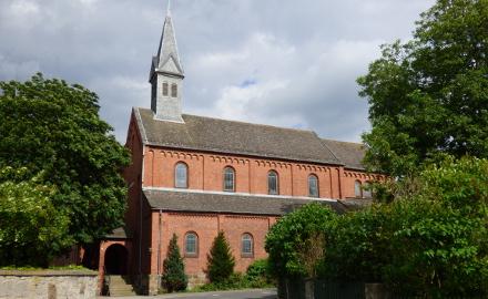 Klosterkirche in Ottbergen / Gemeinde Schellerten Foto (c) Annelie Leinemann