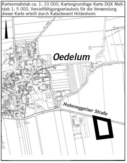 Bebauungsplan 08-03 Übersicht