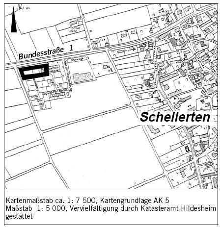 Änderung des Bebauungsplanes Nr. 10-10 - Schellerten-West