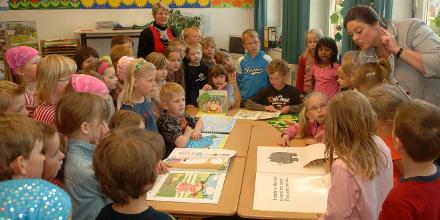 Englischunterricht in der ersten Klasse der Bördeschule Schellerten-Dinklar (Foto: Schlittenbauer)