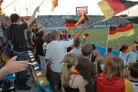 Fussballbegeisterung -  (c) www.pixelio.de / H.P.Reichartz