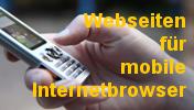 Externer Link: Optimierte Webseiten für mobile Internetbrowser - Foto (c)www.pixelio.de-Christoph Droste