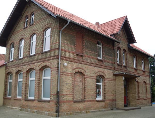 Feuerwehrhaus Bettmar - Nordseite (Foto: Gemeinde Schellerten)