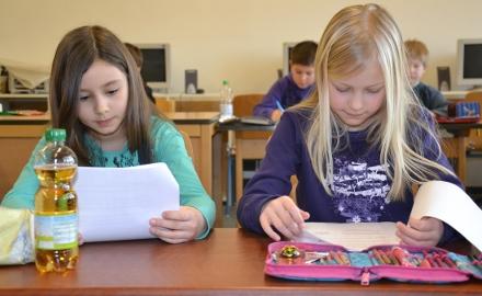 B120 Minuten volle Konzentration: Die Landesrunde der Mathematik-Olympiade ist für die Grundschüler eine Herausforderung. (Foto:Wedig)
