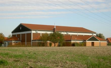 Die Heizungsanlage der Sporthalle Schellerten wird ausgetauscht. Foto (c) Gemeinde Schellerten