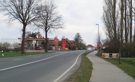 Die Erneuerung der Bundesstraße 1 im Zuge der Ortsdurchfahrt Schellerten rückt nach Westen vor Foto: Lindinger