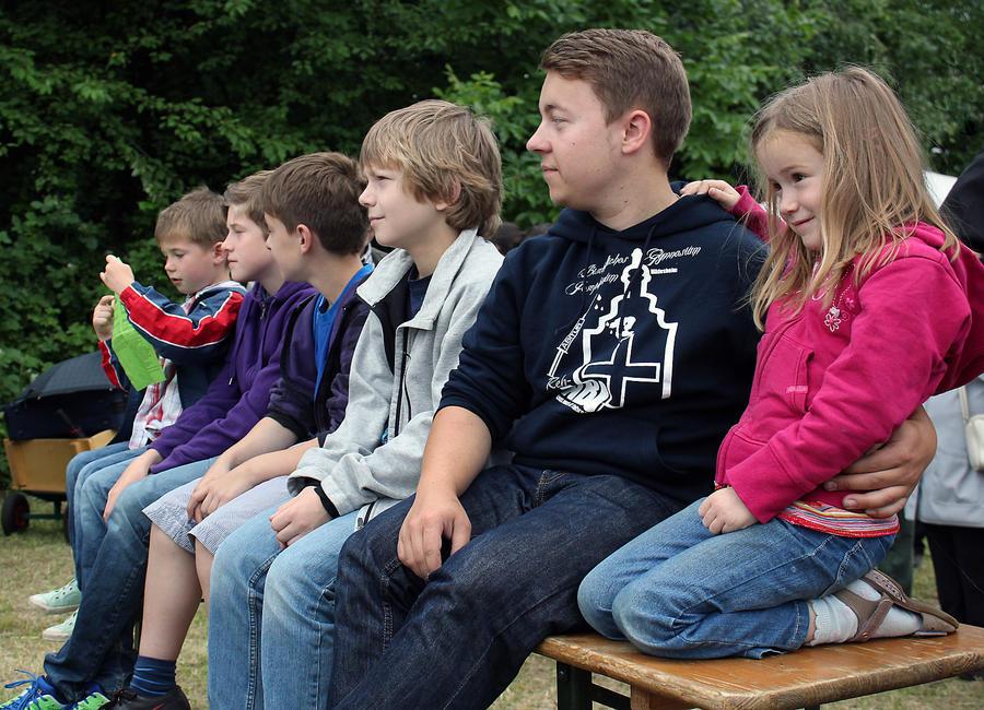 Junge Besucher beim Bördetag in der Gemeinde Schellerten Foto (c) Schütte