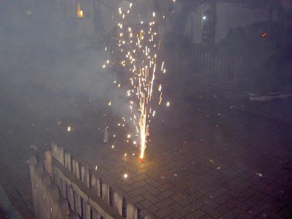 Vorsicht beim Silvesterfeuerwerk ! Foto (c) Stefan Lindinger